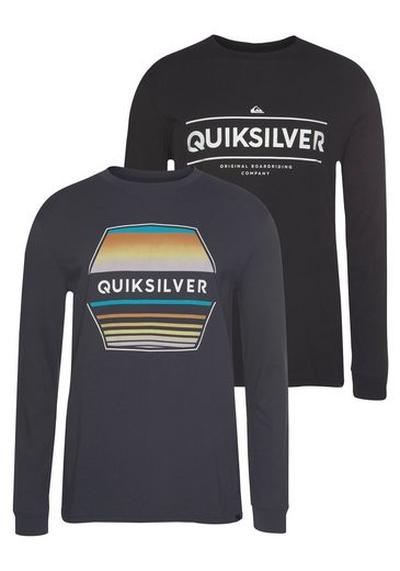 Quiksilver Langarmshirt »DIAGOJI DRIFT RETHIN PACK« (Packung, 2er-Pack)