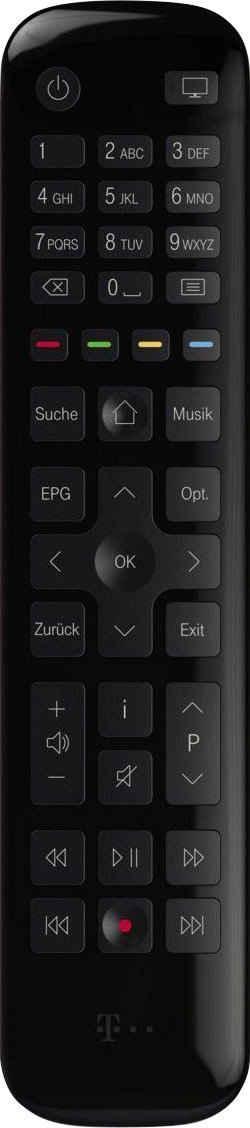 Telekom »Media Receiver 201« Kabel-Receiver (LAN (Ethernet)