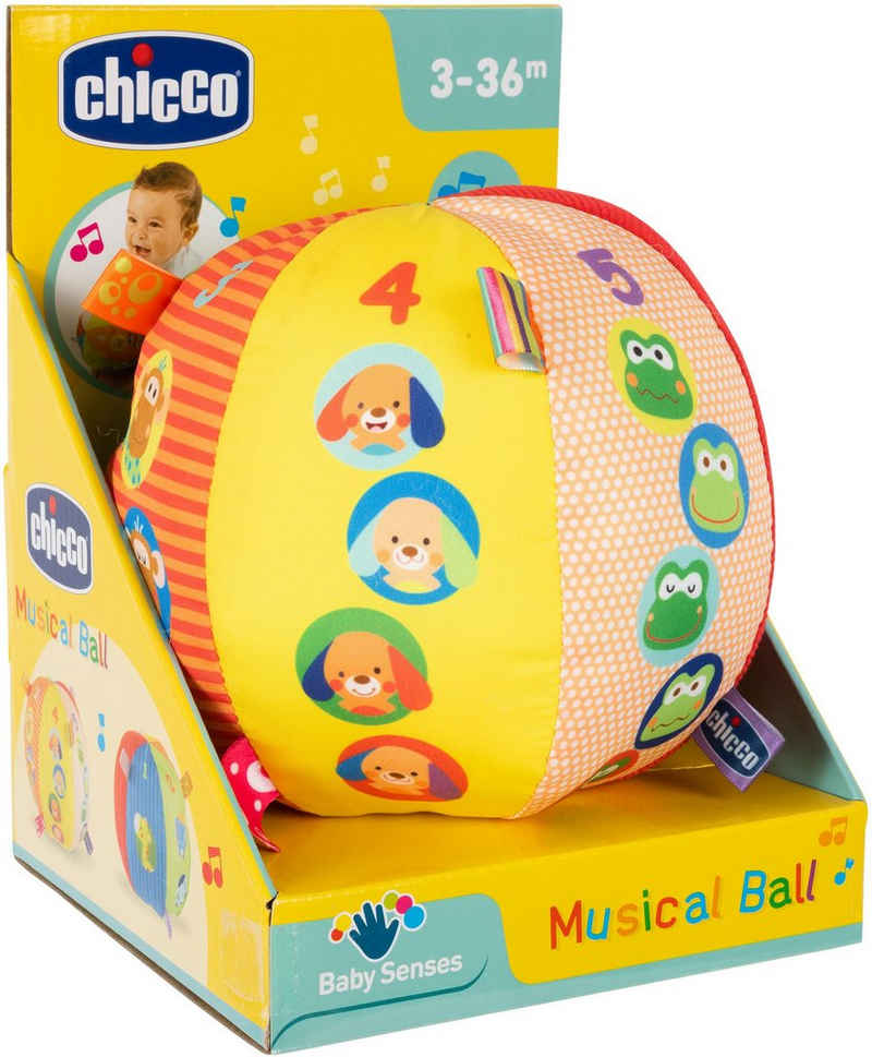 Chicco Greifling »Musikball«, mit Soundeffekten