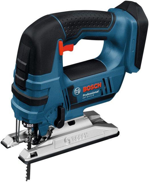 Bosch Professional Akku-Stichsäge GST 18 V-LI B , Set