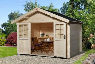weka Gartenhaus »Jens Gr.3«, BxT: 333x360 cm