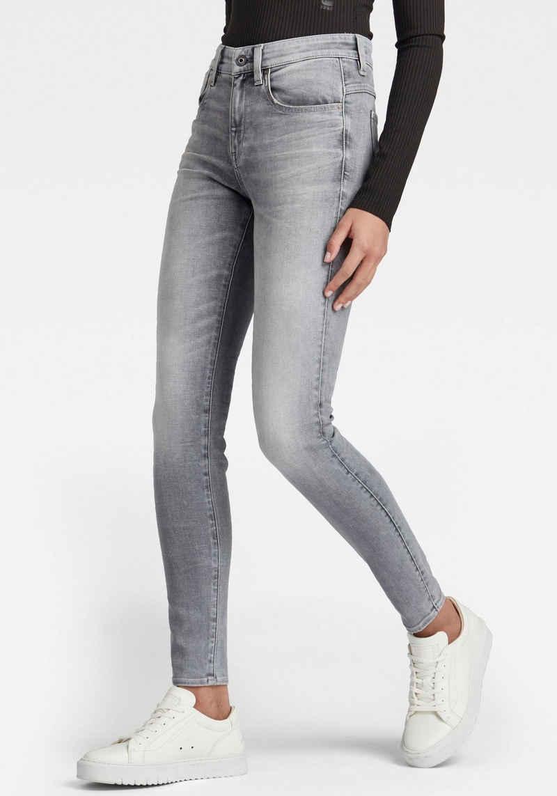 G-Star RAW Skinny-fit-Jeans »Lhana Skinny« mit Formbund und höhrerer Leibhöhe für einen femininen Look