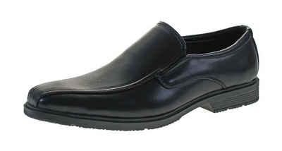 Magnus »Herren Schuhe Slipper Halbschuhe Anzug Business« Schnürschuh Elegante Herren Business-Slipper mit Gummizug