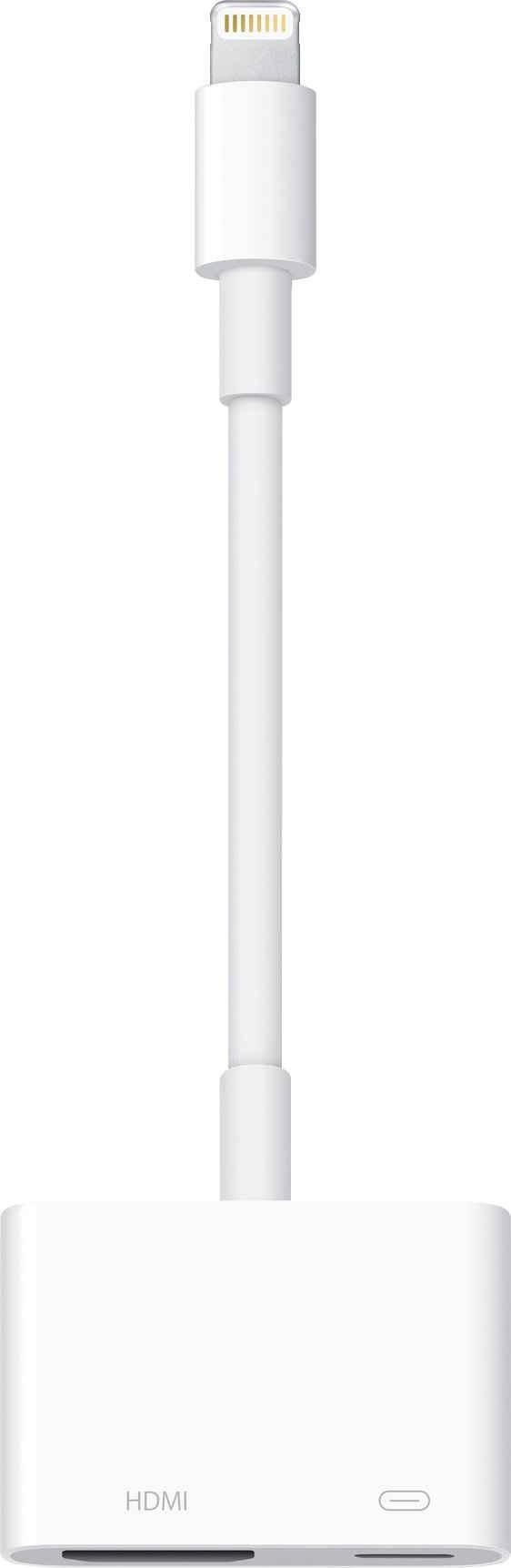 Apple »Lightning to Digital AV Adapter« Smartphone-Adapter Lightning zu HDMI, Lightning