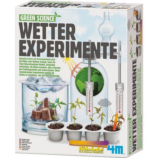 HCM KINZEL Lernspielzeug »Green Science - Wetterexperimente«