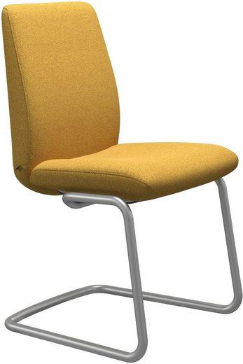 Stressless® Polsterstuhl »Laurel«, Low Back, Größe L, mit Beinen aus Stahl in Chrom matt