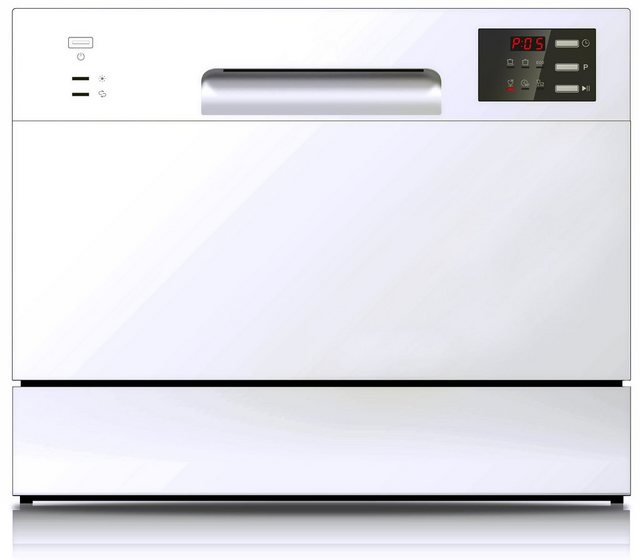 Küchengroßgeräte - Hanseatic Tischgeschirrspüler, HG5544F63602EW, 6,5 l, 6 Maßgedecke  - Onlineshop OTTO