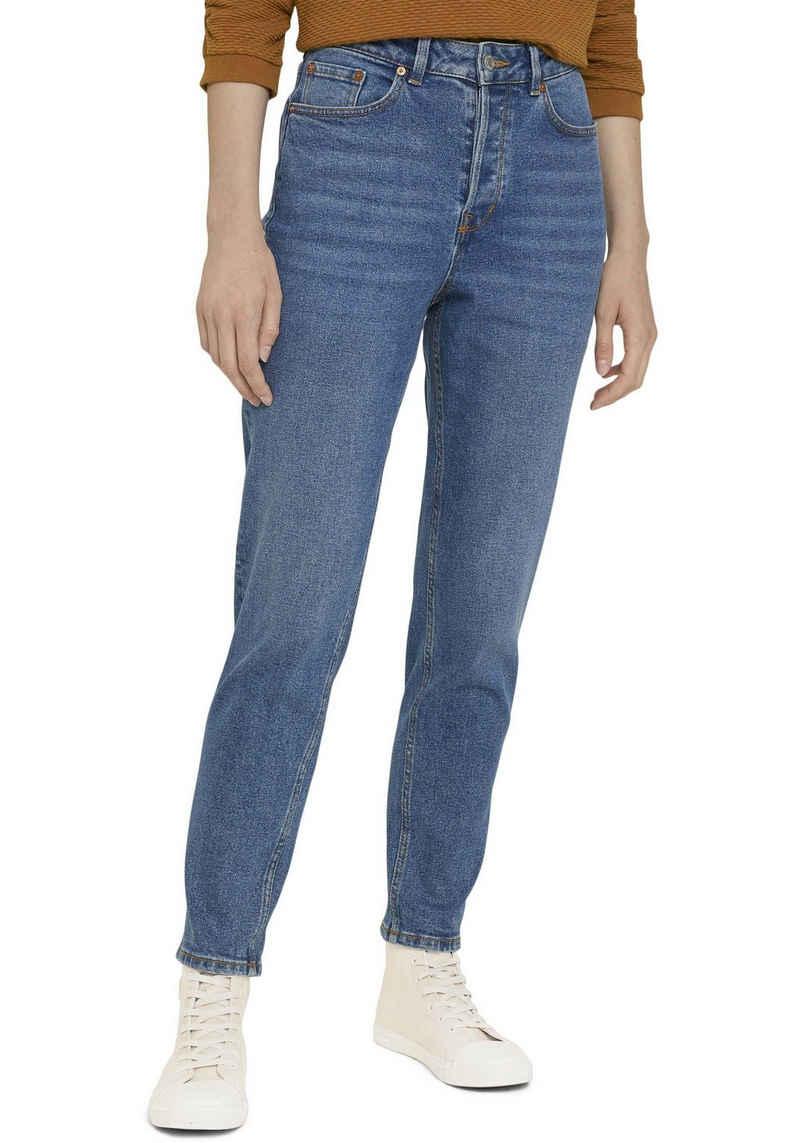 TOM TAILOR Denim Mom-Jeans in leichter Waschung