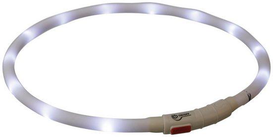 TRIXIE Hundehalsband »Flash USB«, 70 cm Länge, kürzbar, in versch. Farben