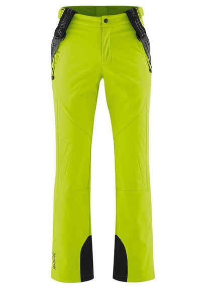 Maier Sports Skihose »Lothar 2« Aus elastischem Softshell, warm und winddicht