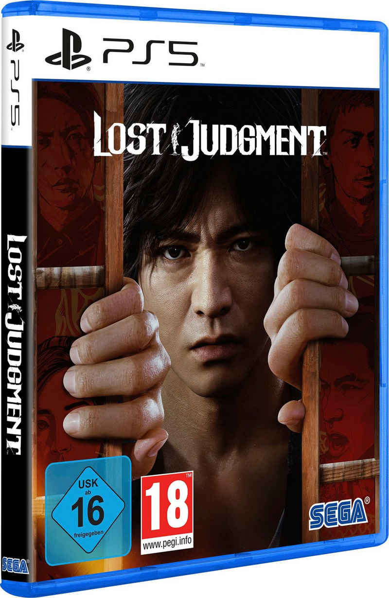 Lost Judgment PlayStation 5