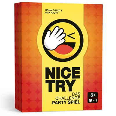 Leipziger Spiele Spiel, Partyspiel »NICE TRY - Das Challenge Party Spiel«