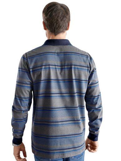 Classic Poloshirt mit Streifen-Muster