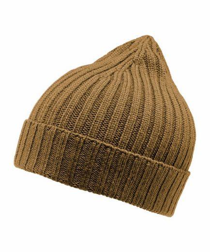 FALKE Strickmütze »Hat« (1-St) aus reiner, extrafeiner Merinowolle