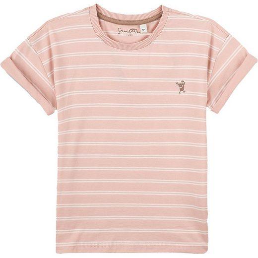 Sanetta PURE T-Shirt »Langarmshirt für Mädchen, Organic Cotton«
