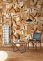 living walls Fototapete »Walls by Patel Cut Stone 1«, glatt, (4 St), Bild 2