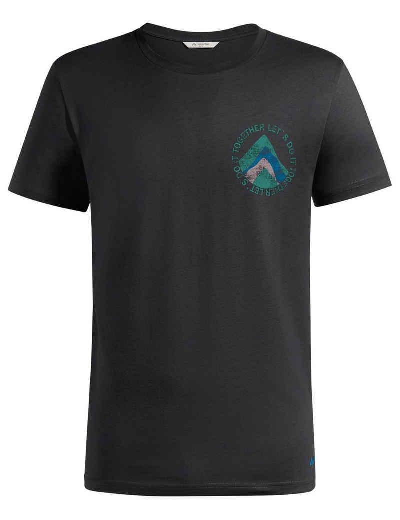 VAUDE T-Shirt »Men's Proclaim T-Shirt« (1-tlg) Grüner Knopf