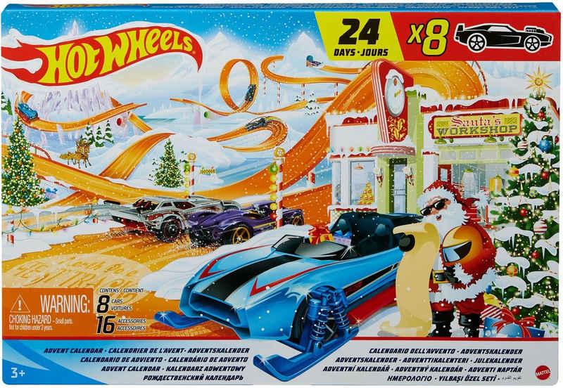 Hot Wheels Adventskalender
