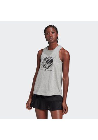 adidas Performance Marškinėliai »WOMEN TENNIS GRAPHIC US ...