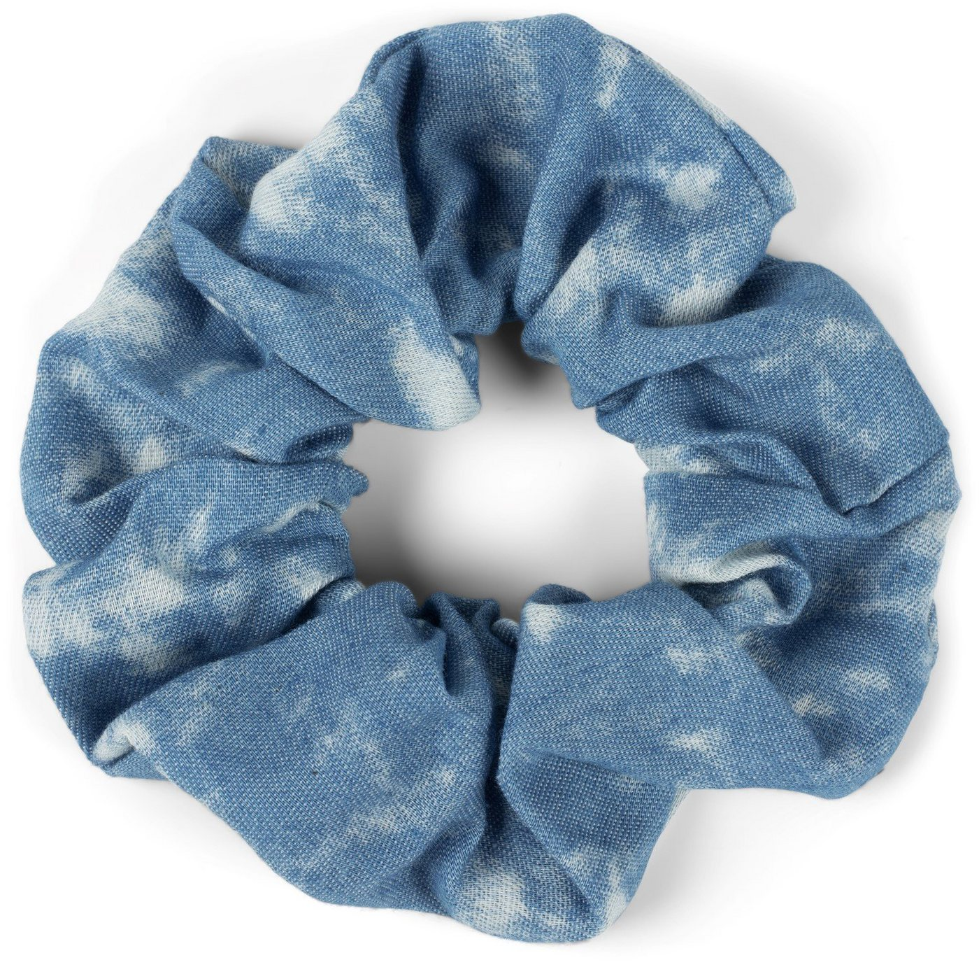 stylebreaker -  Zopfhalter »Bleached Jeans Scrunchie Haargummi«, 1-tlg., Bleached Jeans Scrunchie Haargummi