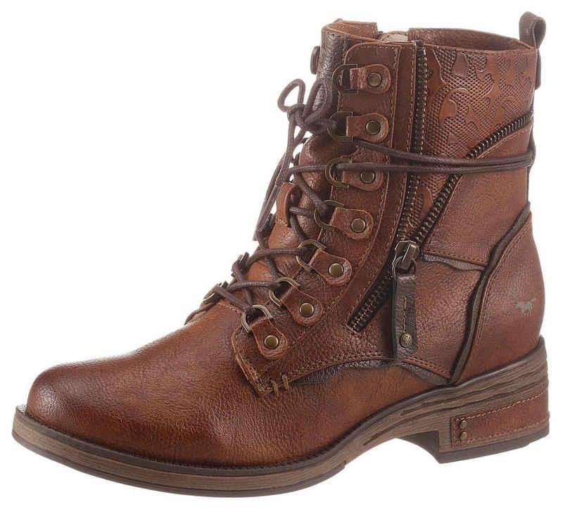 Mustang Shoes Schnürstiefelette mit Warmfutter