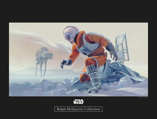 Komar Poster »Star Wars Classic RMQ Hoth Battle Pilot«, Star Wars