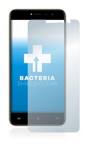 upscreen Schutzfolie »für Cubot Note Plus«, Folie Schutzfolie klar antibakteriell