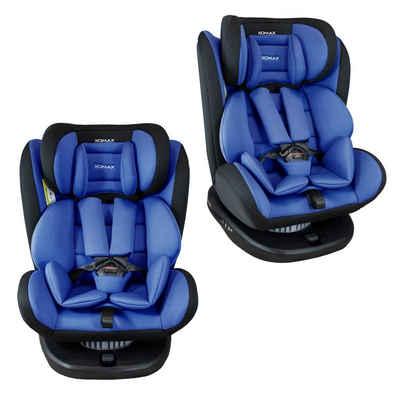 XOMAX Autokindersitz »XOMAX 916 Auto Kindersitz Drehfunktion und ISOFIX für Kinder 0-36kg«, 8,60 kg, Für Kinder von 0Kg bis 36Kg (ca. 1 - 12 Jahre)