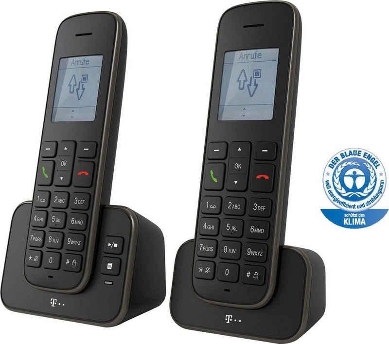 Telekom »Sinus A 207 Duo« DECT-Telefon (Mobilteile: 2)