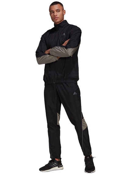 adidas Performance Trainingsanzug »adidas Sportswear Metallic Inserts Tracksuit« (Set, 2-tlg)
