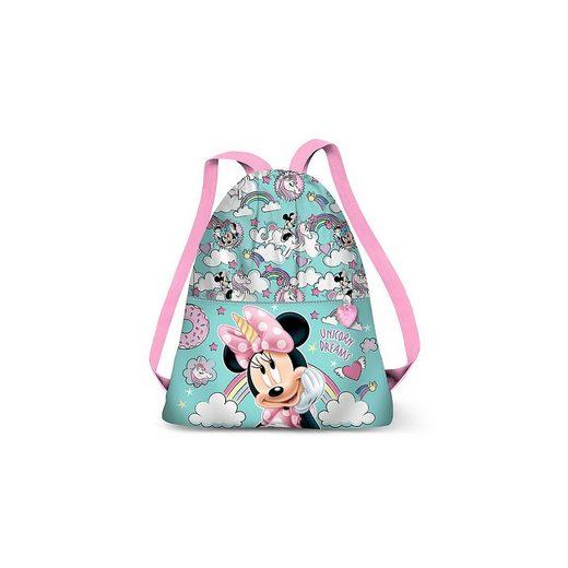 Disney Minnie Mouse Turnbeutel »Sportbeutel Minnie Mouse Unicorn Dreams«