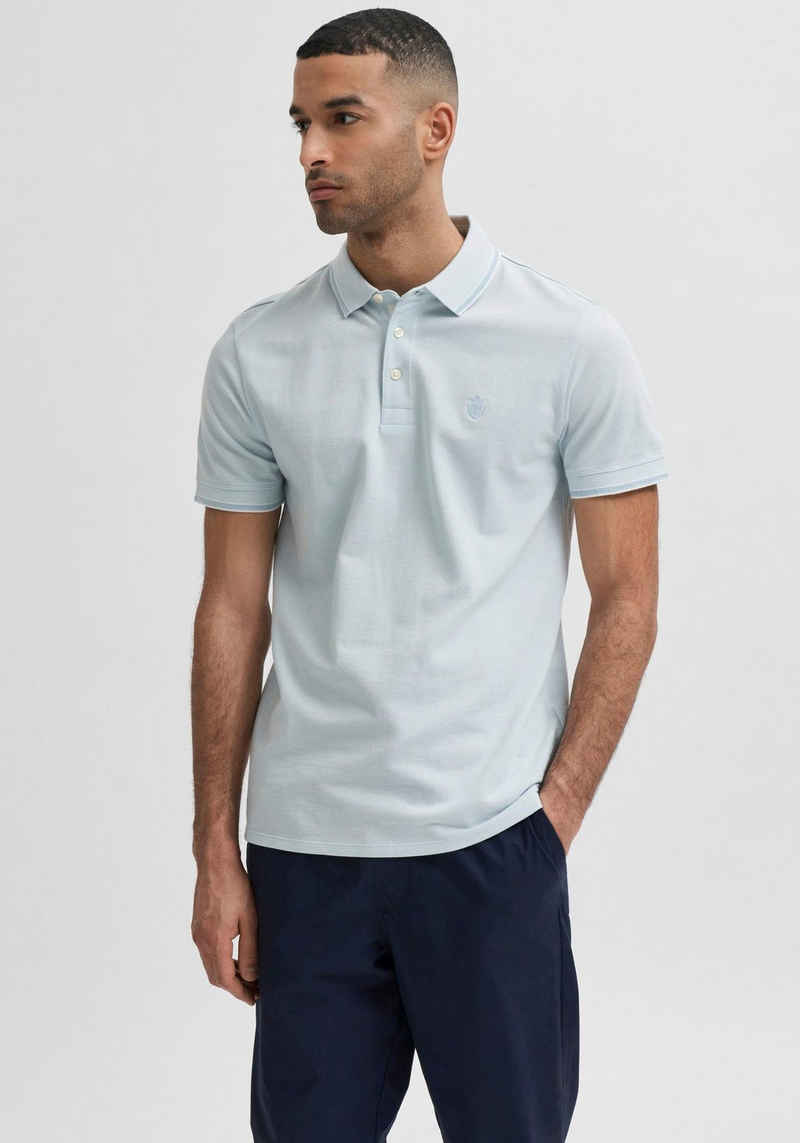 SELECTED HOMME Poloshirt »TWIST POLO«