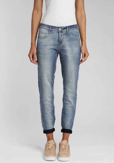 GANG Relax-fit-Jeans »Amelie« in cooler Used Waschung