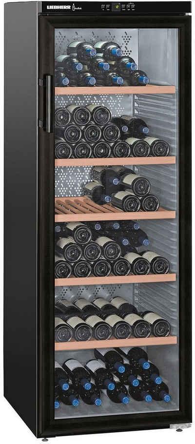 Liebherr Weintemperierschrank WKb 4212-21, für 200 Standardflaschen á 0,75l