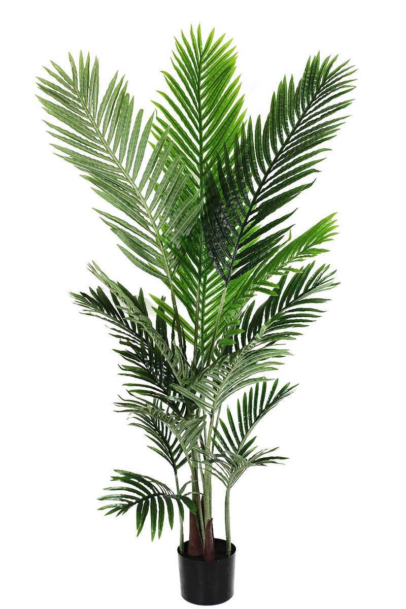 Kunstpalme »künstliche Pflanze« Palme, Arnusa, Höhe 140 cm, fertig im Topf