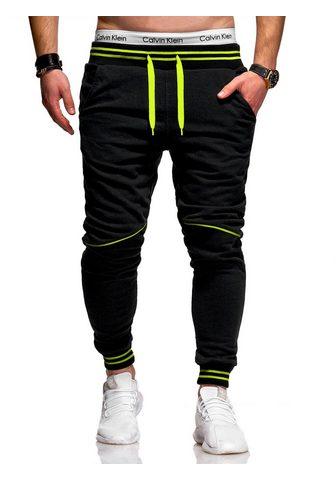 behype Sportinio stiliaus kelnės »STRIPE« su ...