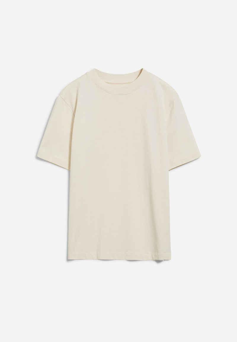 Armedangels T-Shirt »TARAA Damen T-Shirt aus Bio-Baumwolle Loose Fit« (1-tlg) Stickerei