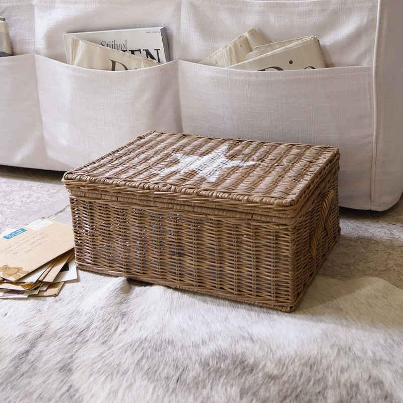 Mirabeau Dekokorb »Box Carcans braun/weiß«