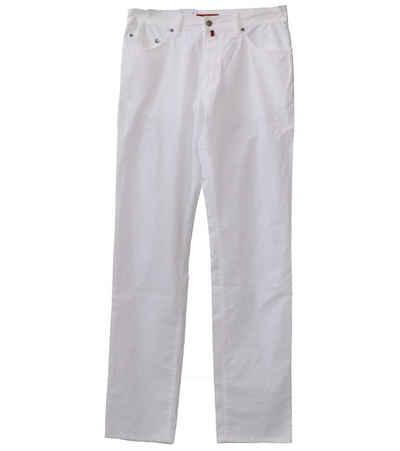 Pierre Cardin 5-Pocket-Jeans »Pierre Cardin Deauville 5-Pocket-Jeans moderne Damen Denim-Hose mit airtouch Freizeit-Hose Weiß«