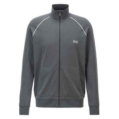 Boss T-Shirt »Herren Sweat-Jacke - Reißverschluss, Loungewear,«