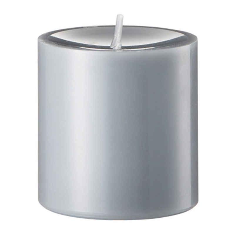 Engels Kerzen Stumpenkerze »Gegossen Schiefer H 8 cm«