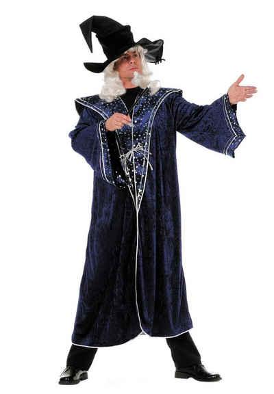 Wilbers Kostüm »Wilbers Kostüm Zauberer 50 - 60 blaue Sterne Zaubermeister«