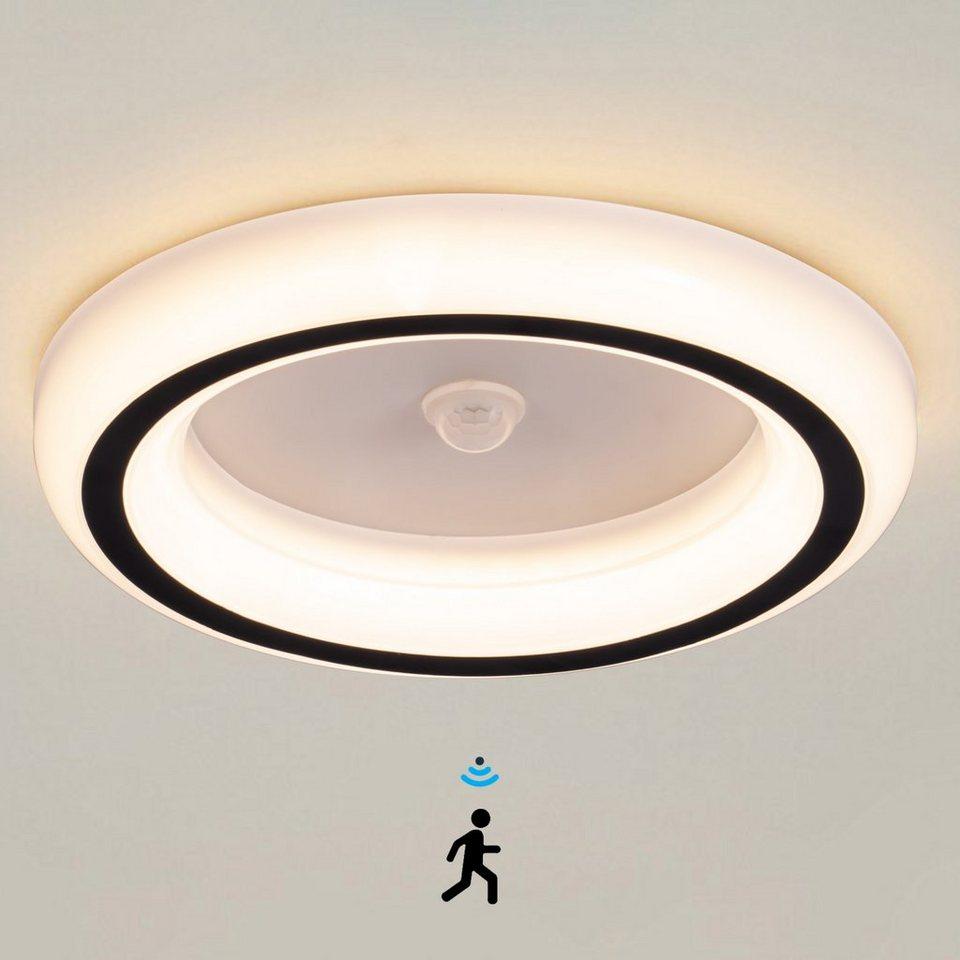 Ailiebe Design LED Deckenleuchte, LED mit Bewegungsmelder, Flur, Diele  online kaufen   OTTO