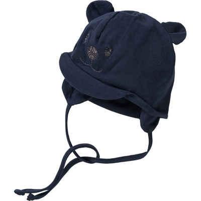 Sterntaler® Schirmmütze »Baby Bindemütze für Jungen«