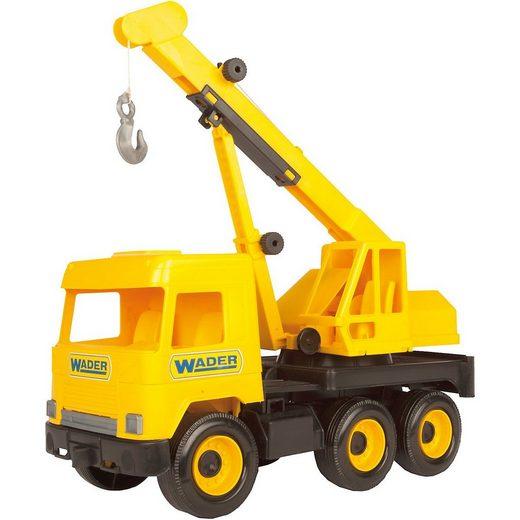 Wader Wozniak Outdoor-Spielzeug »Middle Truck Kranwagen, 38 cm«
