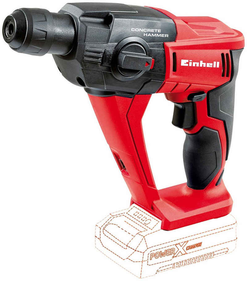 Einhell Akku-Bohrhammer »TE-HD 18 Li«, max. 1100 U/min, Power X-Change