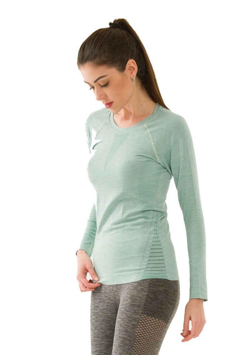 yeni inci Seamless Shirt »Seamless Langarm Funktionsshirt« nahtlose fitness,yoga,laufen funktionsshirt