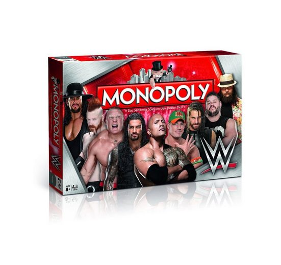 Winning Moves Spiel, Brettspiel »Monopoly WWE Wrestling«