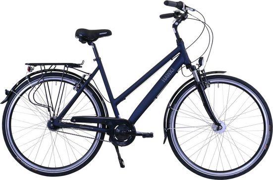HAWK Bikes Cityrad »Lady Deluxe«, 7 Gang, Nabenschaltung