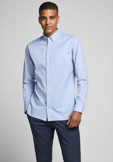 Schlussverkauf Jack & Jones Langarmhemd »CLASSIC SOFT OXFORD SHIRT«